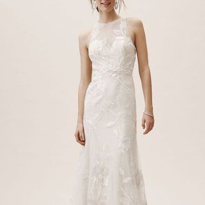 BHLDN WIllowby Prescott Gown Size 4 NEW
